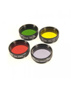 Optical Vision Lunar and Planetary Filter Set 1.25 inch for Telescope
