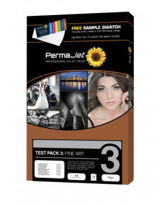 PermaJet Test Pack 3 Fine Art Photo Paper - 18 Sheets (20052)
