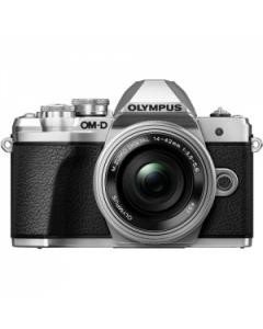 Olympus OM-D E-M10 Mark III Digital Camera with 14-42mm EZ Lens - Silver
