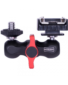 "Rotolight Mini Arm 1/4""-20 Screw to Shoe Mount for Flash Receiver"
