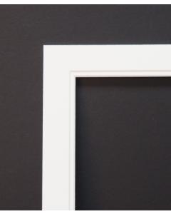 Ultimat Mono- White Mount 10x8 to fit 8x6