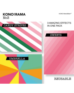 KONO! RAMA Instax Effect Layer No3 For Instax Square Film