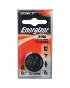 Energizer 2450 Lithium 3v Button Battery Twin Pack