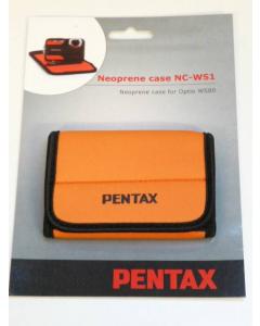 Pentax NC-WS1 Neoprene Case for Optio WS80 - Orange