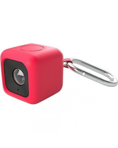 Polaroid Bumper Case for Cube Action Camera Red