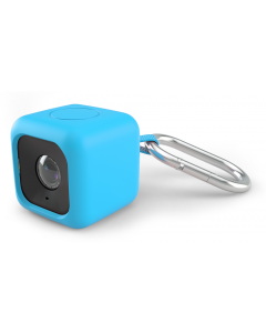 Polaroid Bumper Case for Cube Action Camera - Blue