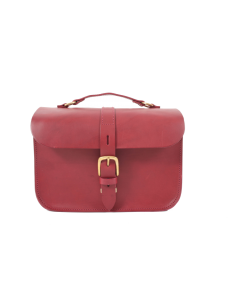 Fig The Lincon Burgandy Camera Bag