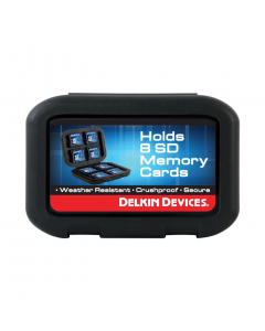 Delkin Devices Weather Resistant SD Memory Card Holder