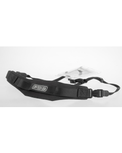 OP/TECH USA Pro 3/8 Inch Neoprene Neck Strap - Black
