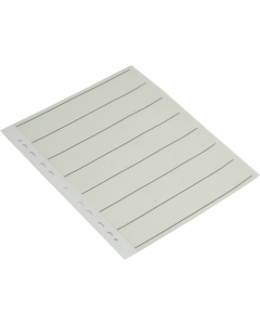 Paterson 35mm Negative Filing sheets - 25 sheets pack