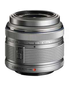 Olympus 14-42mm f3.5-5.6 M.Zuiko Digital Lens - Silver (White Box)