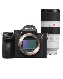 Sony Alpha A7 III Full Frame Digital Camera & 70-200mm f2.8 OSS G Master Lens