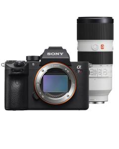 Sony Alpha A7R III Full Frame Digital Camera & 70-200mm f2.8 OSS G Master Lens