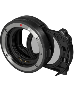Canon EF to EOS R Drop-In Filter Lens Mount Adapter with Circular Polarizing Filter