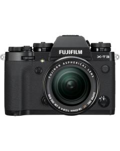 Fujifilm X-T3 Digital Mirrorless Camera with 18-55mm XF Lens - Black