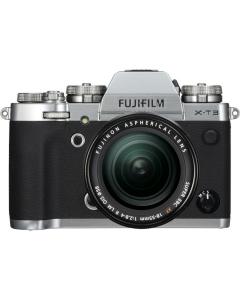 Fujifilm X-T3 Digital Mirrorless Camera with 18-55mm XF Lens - Silver