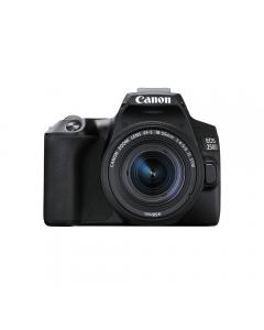 Canon EOS 250D Digital SLR Camera & EF-S 18-55mm IS STM Lens - Black