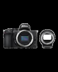 Nikon Z50 Digital Mirrorless Camera with FTZ Mount Adapter