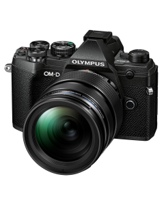 Olympus OM-D E-M5 Mark III Digital Camera with 12-40mm PRO Lens - Black