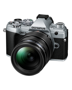 Olympus OM-D E-M5 Mark III Digital Camera with 12-40mm PRO Lens - Silver