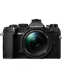 Olympus OM-D E-M5 Mark III Digital Camera with 14-150mm Lens - Black