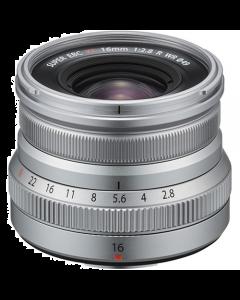 Fujifilm XF 16mm F2.8 R WR Lens - Silver