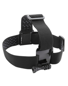 Kitvision Adjustable Head Strap Mount Harness for GoPro and Action Cameras with GoPro mount