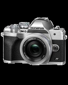 Olympus OM-D E-M10 Mark IV Digital Camera with 14-42mm EZ Lens - Silver