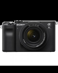 Sony Alpha A7C Full Frame Digital Camera with 28-60mm Lens - Black