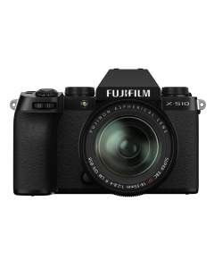 Fujifilm X-S10 Digital Mirrorless Camera with XF 18-55mm Lens
