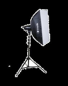 Interfit F121 100w Single Head Softbox Kit (INT902)