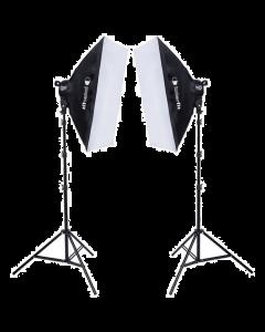 Interfit F5 Two-Head Fluorescent Lighting Kit (INT502)