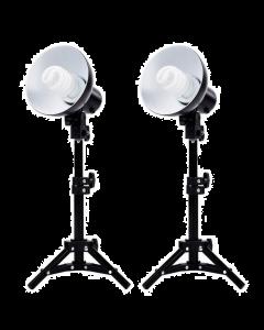 Fovitech 2 x Product Photography Fluorescent Lamp Lighting Kit (SPK10-051-B)