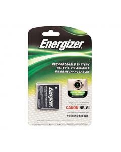 Energizer Canon NB-6L Replacement Li-ion Rechargeable Battery - ENB-C6L