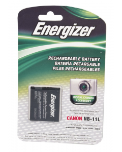 Energizer Canon NB-11L Replacement Li-Ion Recheargeable Battery