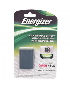 Energizer Canon NB-2L Replacement Li-Ion Recheargeable Camera Battery
