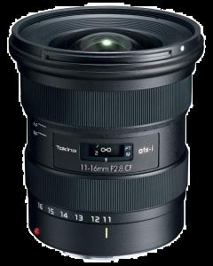 Tokina atx-i 11-16mm f2.8 CF Lens - Canon EF Fit