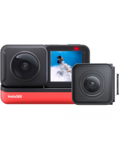 Insta360 ONE R Action Camera Twin Edition - 360 and 4k Wide Angle
