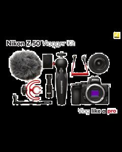 Nikon Z50 + 16-50mm VR Vlogger kit