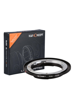K&F Concept Nikon F to Canon EF Lens Mount Adapter - KF06.088