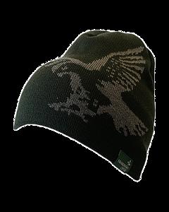 Swarovski Merino Beanie Hat - Green