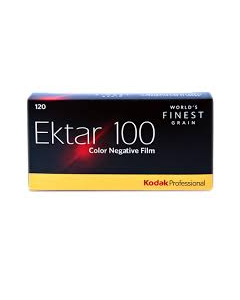 Kodak Ektar ISO 100 Professional Colour 120 Roll Film