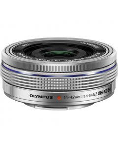 Olympus 14-42mm EZ Zoom Lens - Silver: White Box