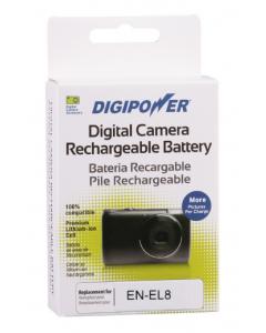 Digipower Replacement Battery for Nikon EN-EL8 (730mAh)