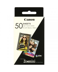 Canon Zoemini Zink Photo Paper 50 Sheets