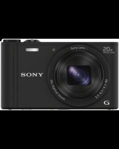 Sony Cyber-shot DSC-WX350 Digital Camera: Black