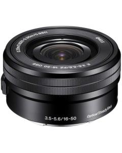 Sony E16-50mm f3.5-5.6 OSS Lens For Sony NEX Digital Camera: Black: White Box