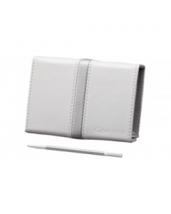 Sony LCJ-THD Leather Case & Stylus for Cybershot T700/T77 Compact Cameras: White