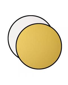 """Westcott Basics 50"""" Gold/White Reflector - 324"""