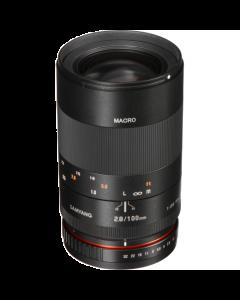 Samyang 100mm F2.8 ED UMC Telephoto Macro Lens: MFT Micro Four Thirds Mount CA3939